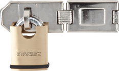 Productafbeelding Hangslot Stanley Professional Security 50 mm met Grendel klein