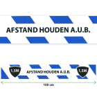 Productafbeelding Afstand Stickers klein