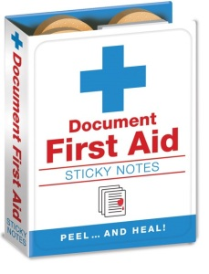 Productafbeelding Correctiepapier First Aid large