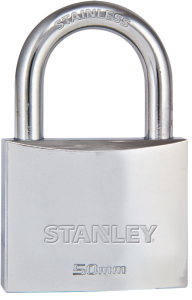 Productafbeelding Hangslot Stanley Chrome 50 mm large