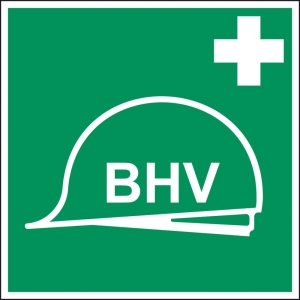 Productafbeelding BHV Sticker 20 large