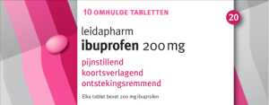 Productafbeelding Ibuprofen 200mg 10 large