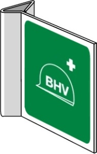 Productafbeelding BHV Pictogram Haaks Bord large